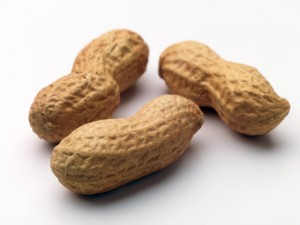 Three Peanuts