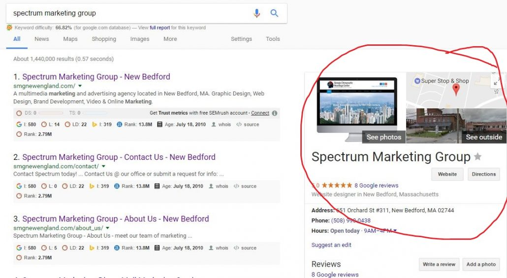 how to set up your google listing