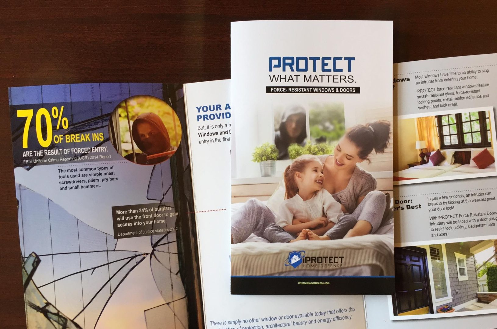 Print Design Project For iProtect