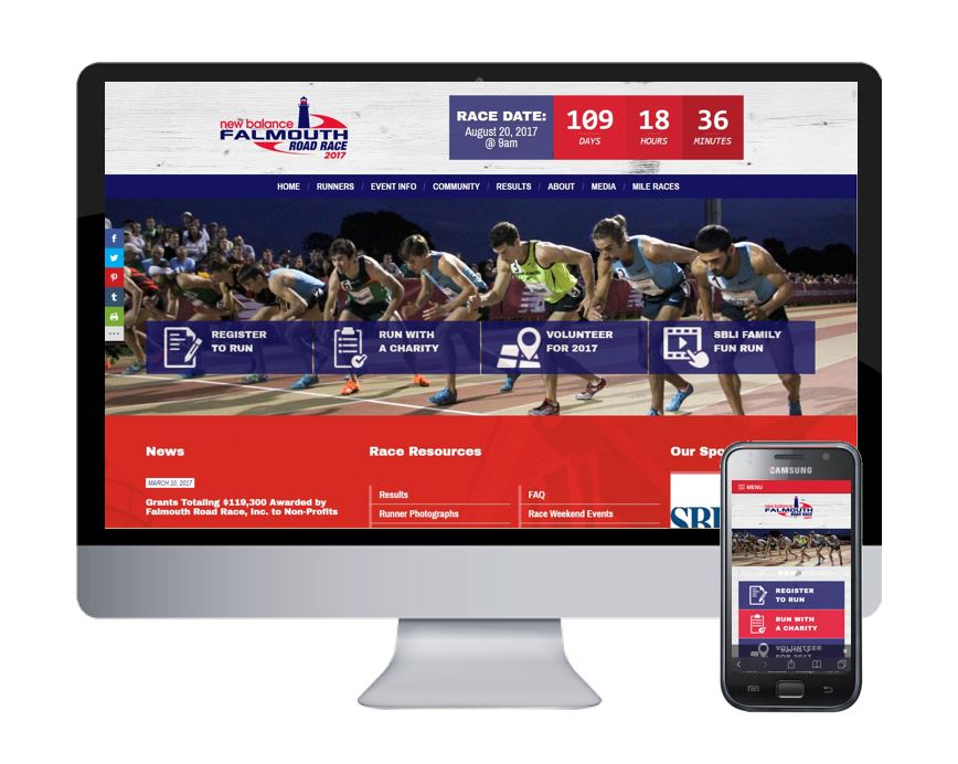 Spectrum Releases New Website for the New Balance Falmouth Road Race
