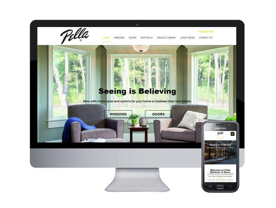 Spectrum Releases New Website For Pella