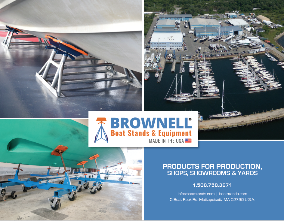 Spectrum Releases New Brochure For Brownell Boat Stands