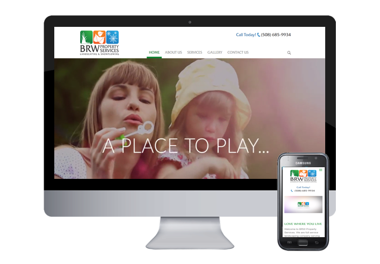 BRW website design