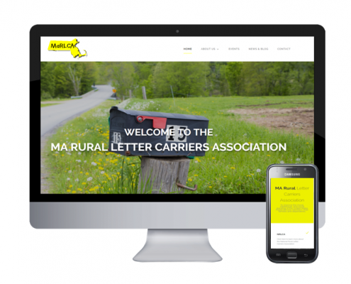 marlca website design