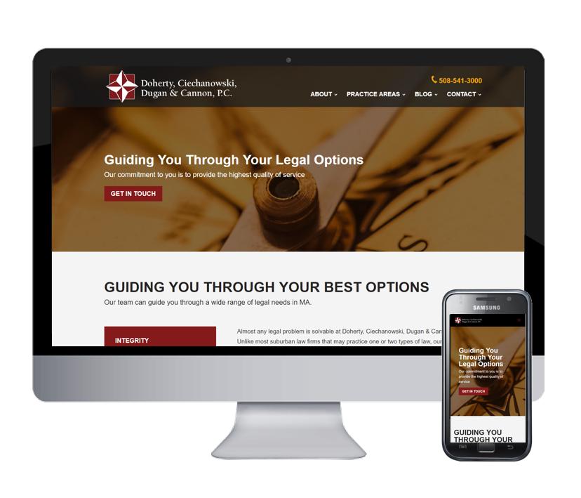 DC DC Law Website