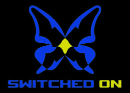 switched on logo by tombob