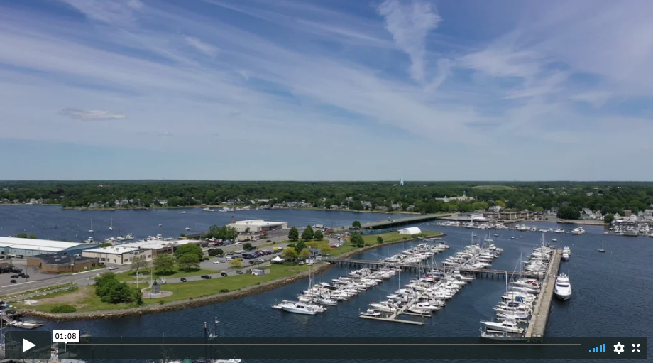 New Drone Video for Popes Island Marina – New Bedford, MA