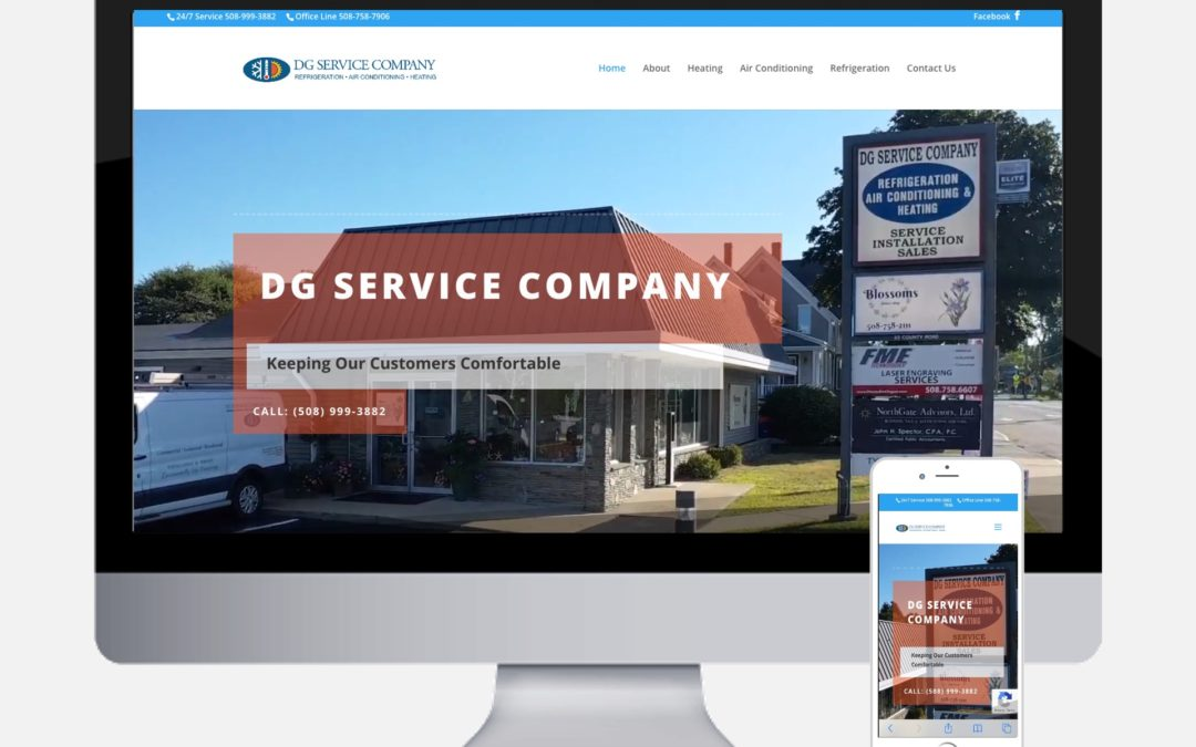 Spectrum Marketing Group Releases New Website for DG Service Co. of Mattapoisett MA